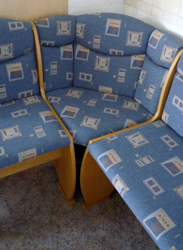 Eckbank ohne Stühle und Tisch - Polstermueller aus Burgstädt