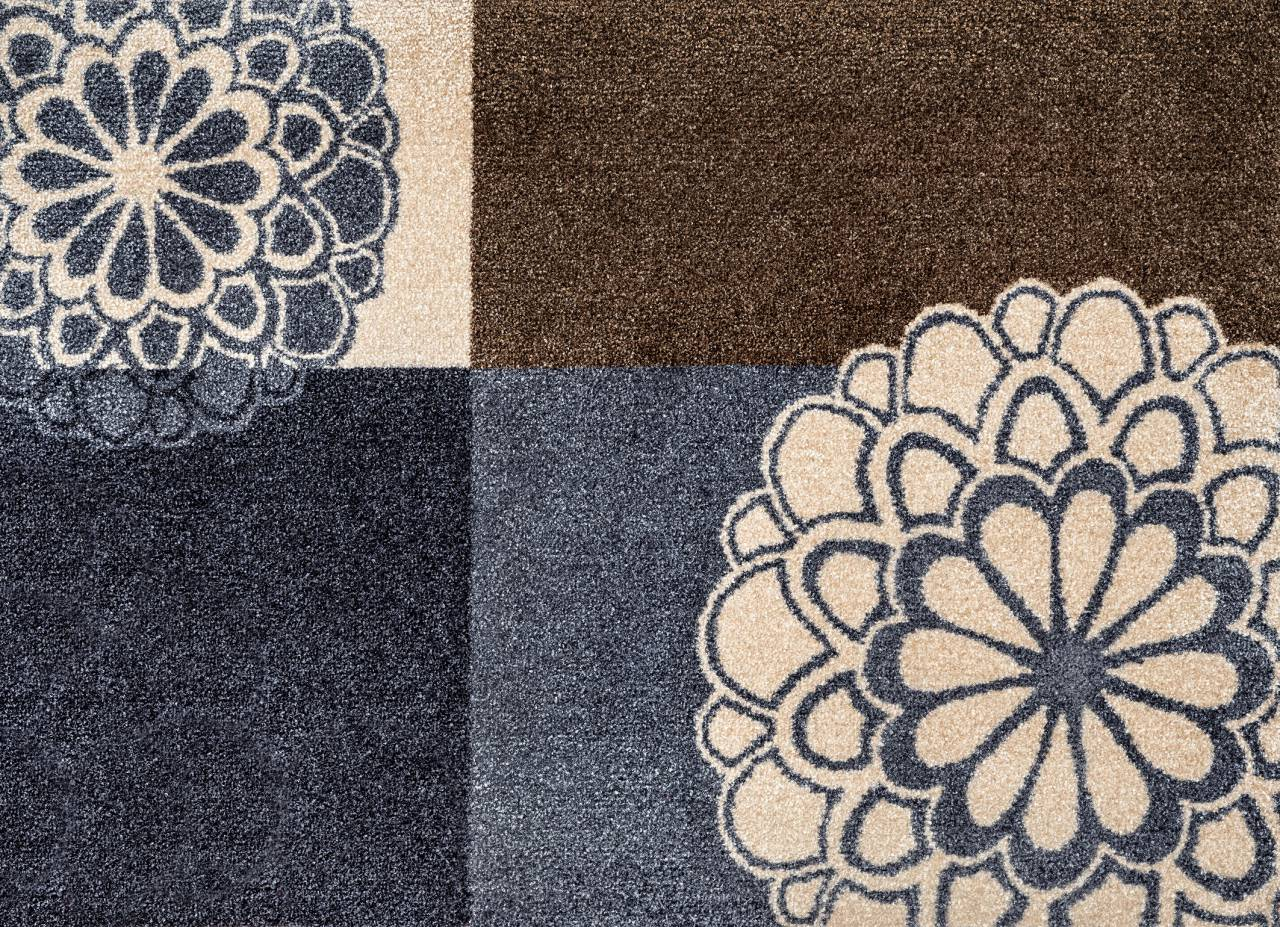 fussmatte rondo grey polstermueller aus burgst dt. Black Bedroom Furniture Sets. Home Design Ideas
